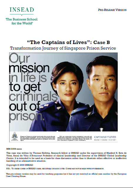 INSEAD CASE The Captains of Lives, by Thomas Hellwig